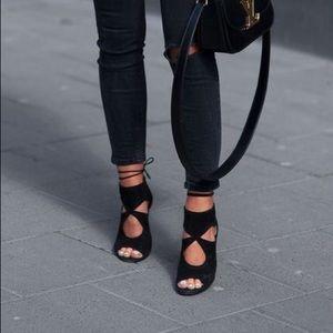Aquazurra Sexy Thing Leather Sandal